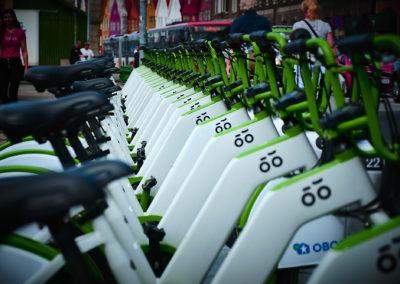 Bicycle in line Trondheim Norway