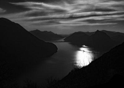 Luganer See -Tessin Schweiz